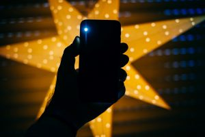 Click Swipe Share - iPhone Flashlight Tutorial