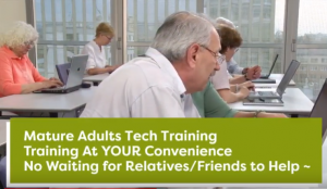 Plano Tech Training for Older Adults - Mature Adults Tech Training - YouTube